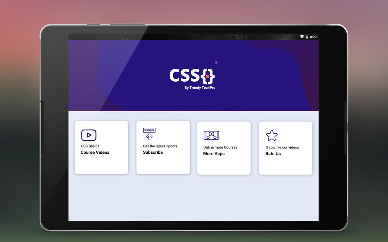 Css tutorial ppt download.