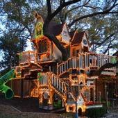 tree house design icon