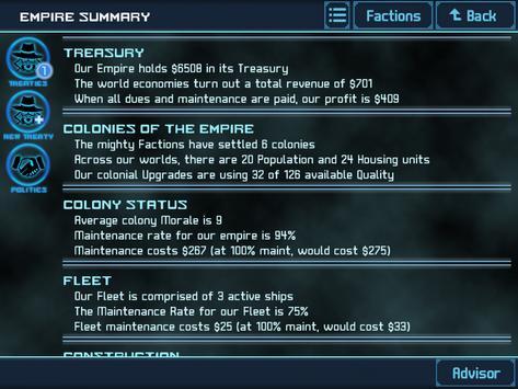 Star Traders 4X Empires Elite скриншот 13