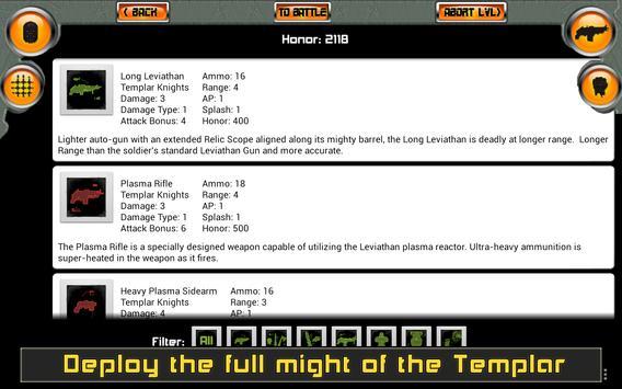 Templar Assault RPG скриншот 14