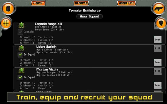 Templar Assault RPG скриншот 15