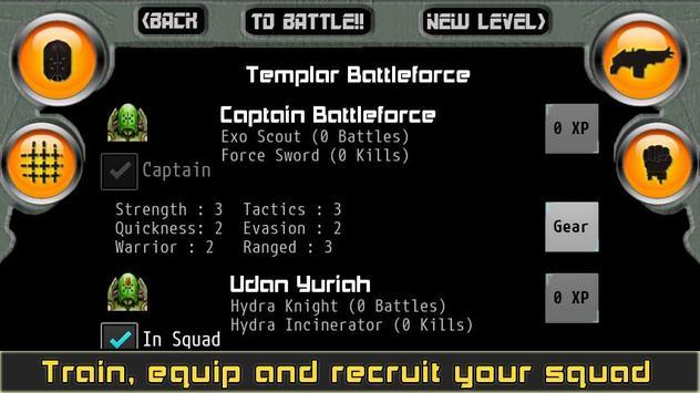 Templar Assault RPG скриншот 4