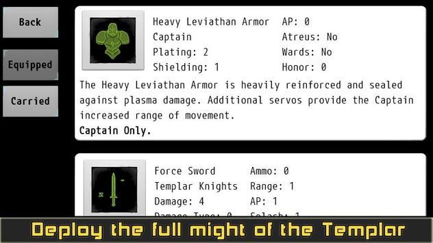 Templar Assault RPG скриншот 5