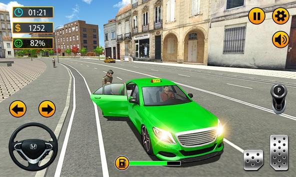 Taxi Driver - 3D City Cab Simulator screenshot 3