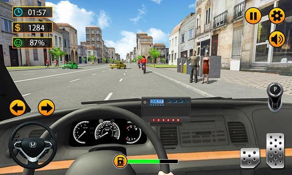Taxi Driver - 3D City Cab Simulator poster
