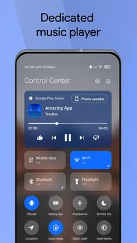 Mi Control Center screenshot 2