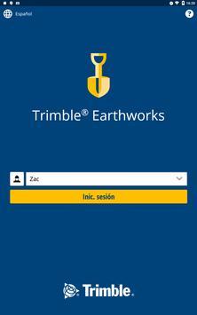 Trimble Earthworks captura de pantalla 8