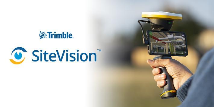 Trimble SiteVision syot layar 7