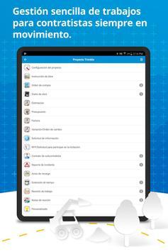 Contractor WorkZone - Herramienta de gestión captura de pantalla 7