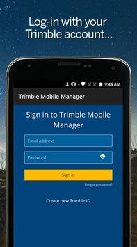 Trimble Mobile Manager Poster