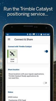 Trimble Mobile Manager captura de pantalla 1