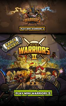Mini Warriors الملصق