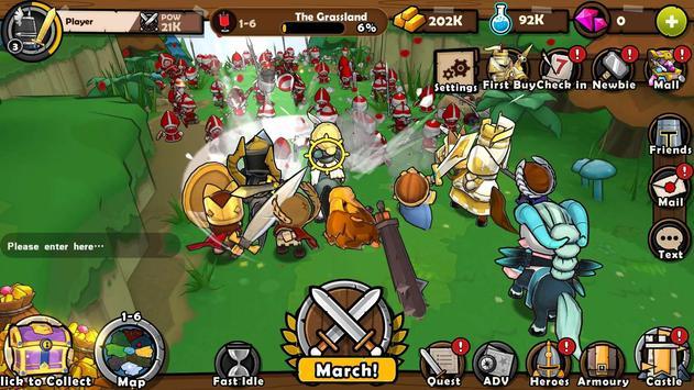 Mini Warriors تصوير الشاشة 3