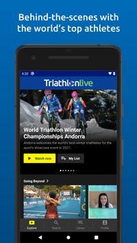 TriathlonLive imagem de tela 1