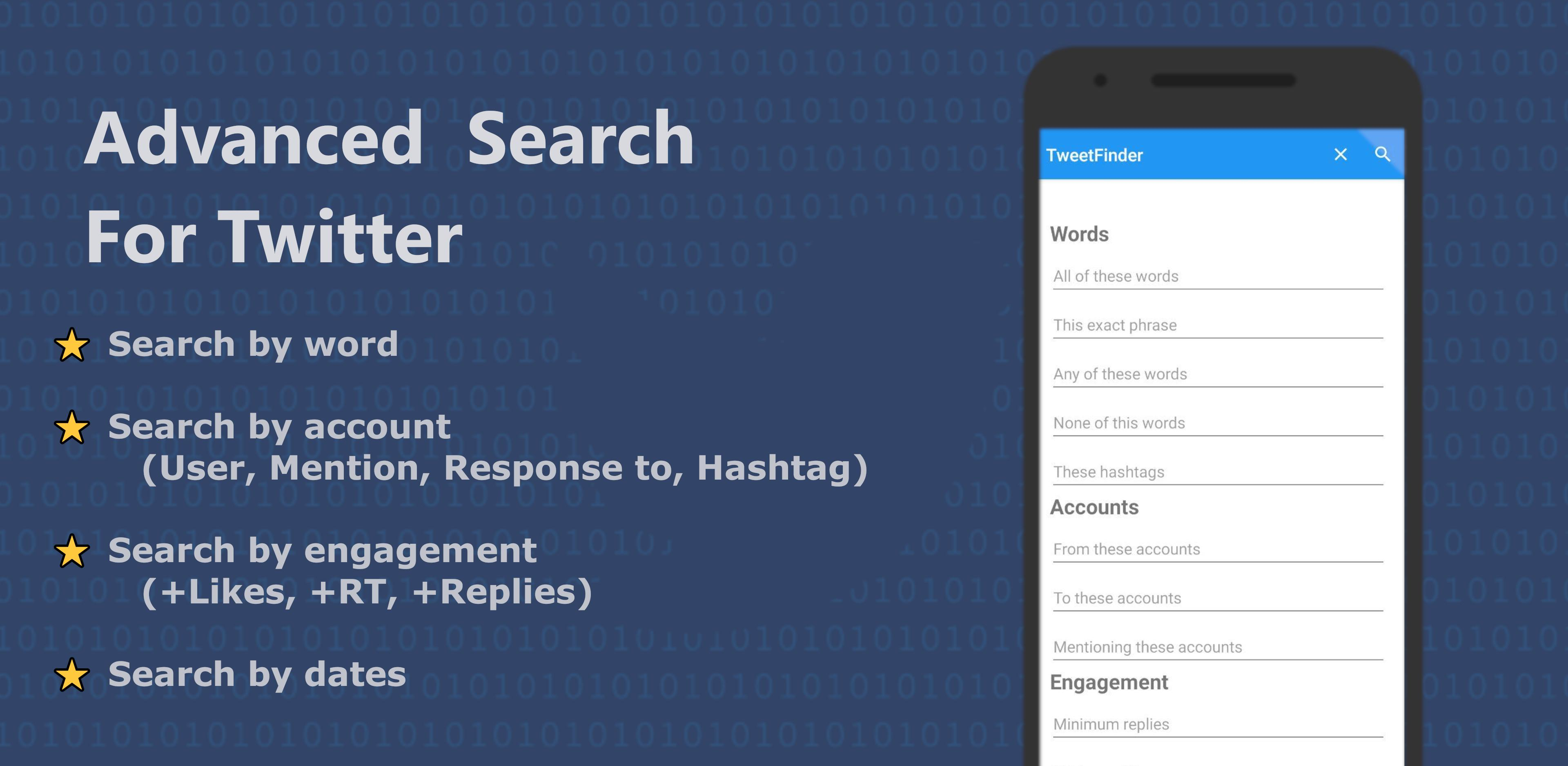Tweet Finder   Advanced Search for Twitter 20 for Android   APK ...
