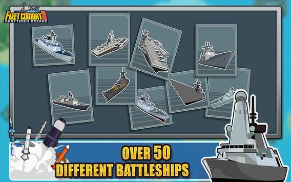 Fleet Combat 2 تصوير الشاشة 8