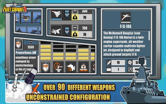 Fleet Combat 2 تصوير الشاشة 9