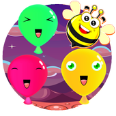 for kids - Little balloon icon