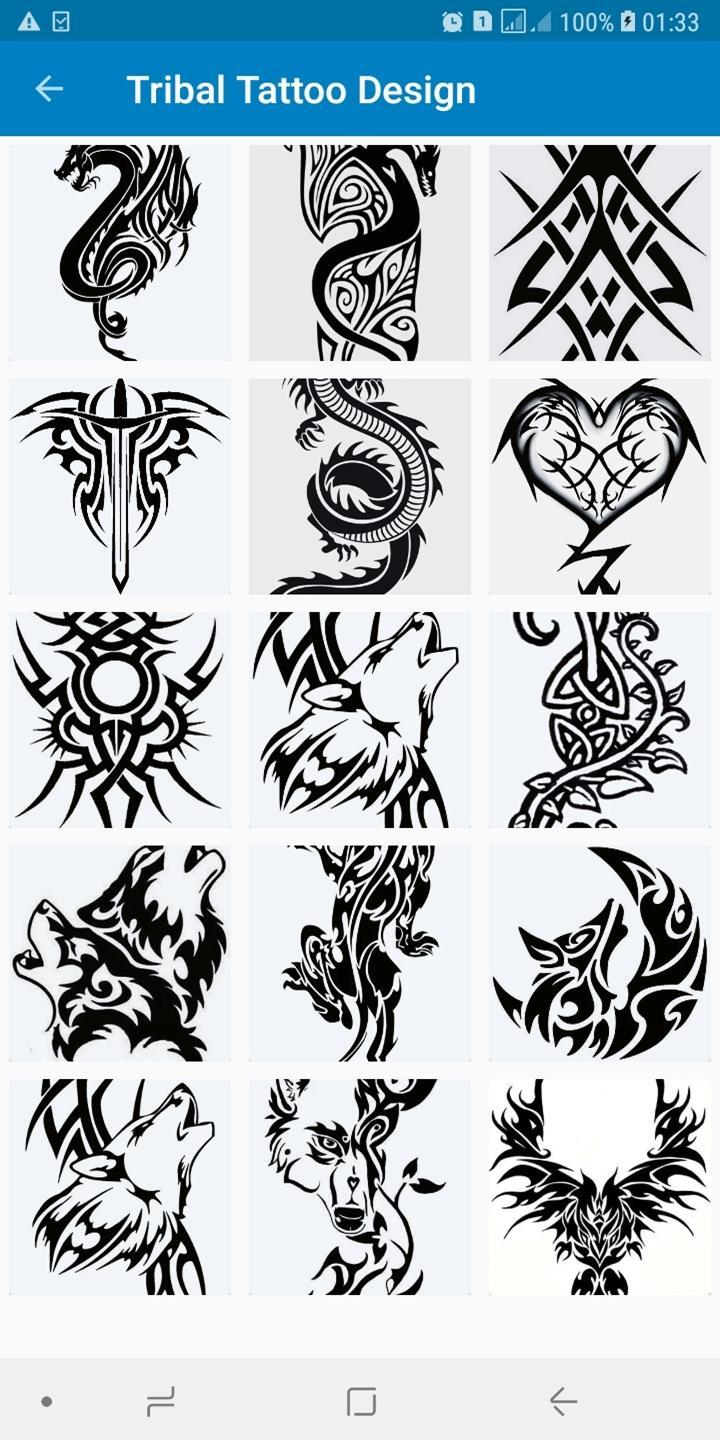 Simple Tribal Tattoo Design Ideas For Men For Android Apk Download