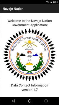 Navajo Nation Government poster