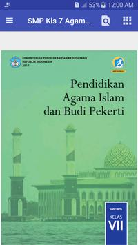 BSE SMP kelas 7 Agama Islam poster