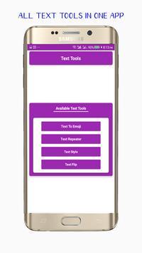 Text Tools poster