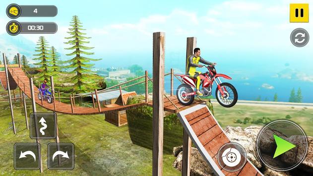 Mega Ramp Bike Stunt Games - Stunt Bike Racing 3D screenshot 6