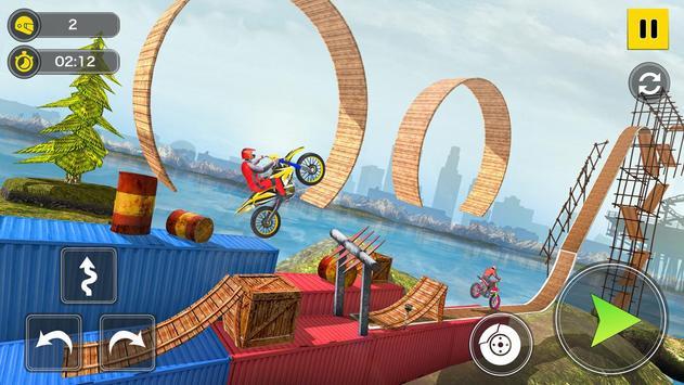 Mega Ramp Bike Stunt Games - Stunt Bike Racing 3D screenshot 8