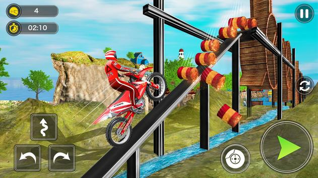 Mega Ramp Bike Stunt Games - Stunt Bike Racing 3D screenshot 9