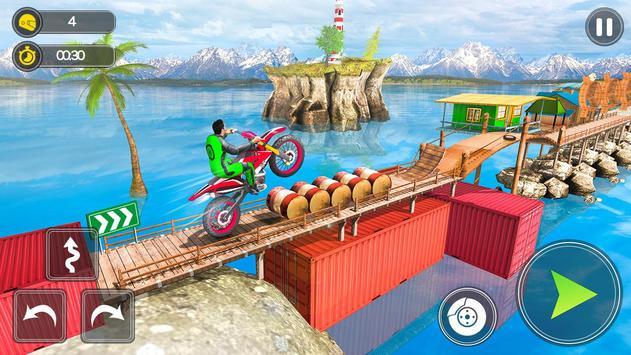 Mega Ramp Bike Stunt Games - Stunt Bike Racing 3D poster