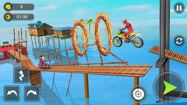 Mega Ramp Bike Stunt Games - Stunt Bike Racing 3D screenshot 11