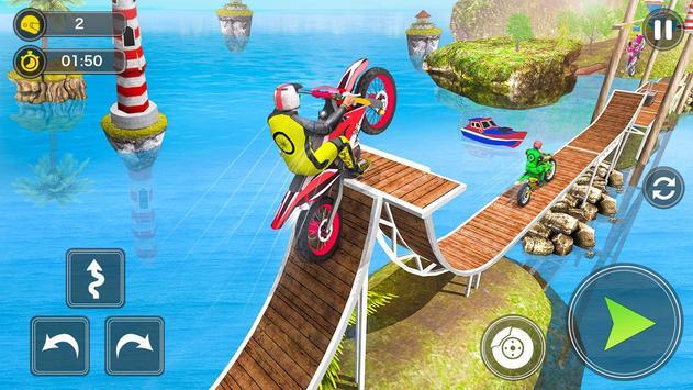 Mega Ramp Bike Stunt Games - Stunt Bike Racing 3D screenshot 12