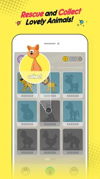Rescue Animals: Tricky Puzzle & Think Outside تصوير الشاشة 4