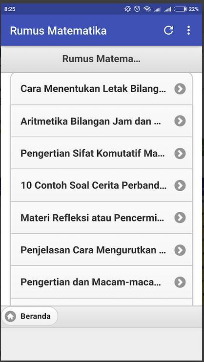 Kumpulan Rumus Matematika Untuk Sd Smp Sma Para Android Apk Baixar