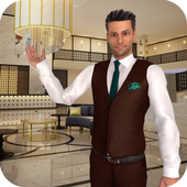 Virtual Manager Hotel Star icon