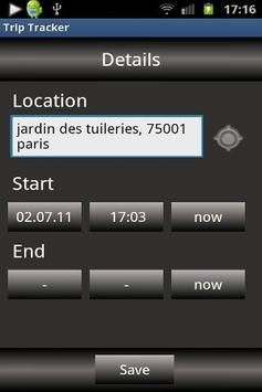 Trip Tracker screenshot 4