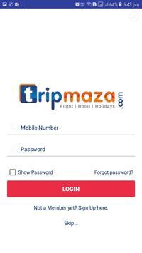 Tripmaza.com - cheapest flight tickets screenshot 1