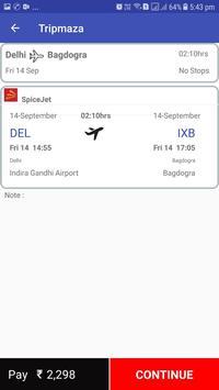 Tripmaza.com - cheapest flight tickets screenshot 4