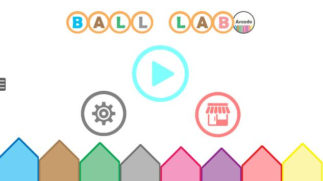 Ball Lab Arcade poster