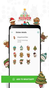 Christmas Sticker for Whatsapp poster