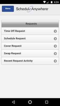 ScheduleAnywhere syot layar 2