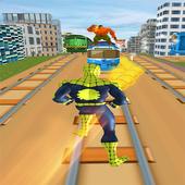 Subway Spider Amazing  Hero Runner icon