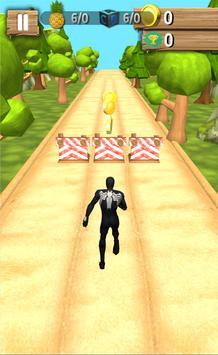 Subway Spider Amazing  Hero Runner screenshot 2