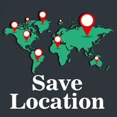 Location Saver: Maps, GPS Location & Navigation icon