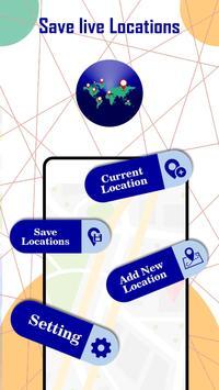 Location Saver: Maps, GPS Location & Navigation poster