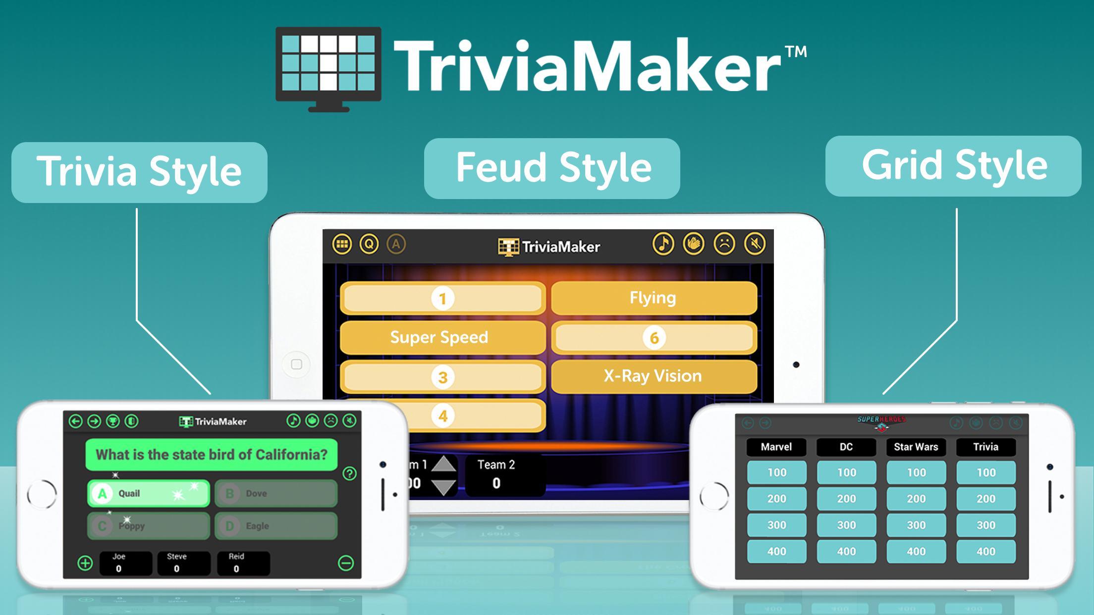 Trivia Maker - Custom Trivia and Quiz Creator for Android - APK Download