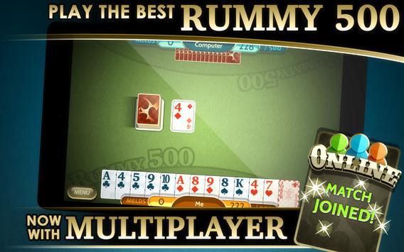 Rummy 500 screenshot 10