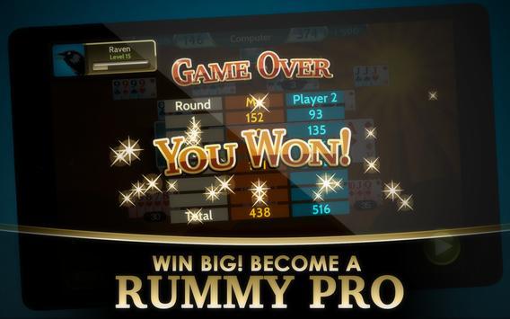 Rummy 500 screenshot 14
