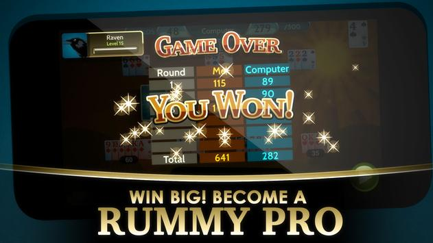Rummy 500 screenshot 4