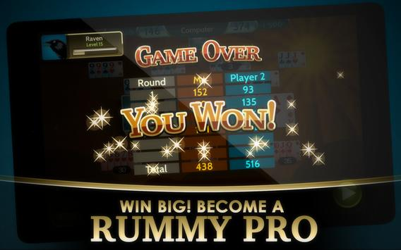Rummy 500 screenshot 9